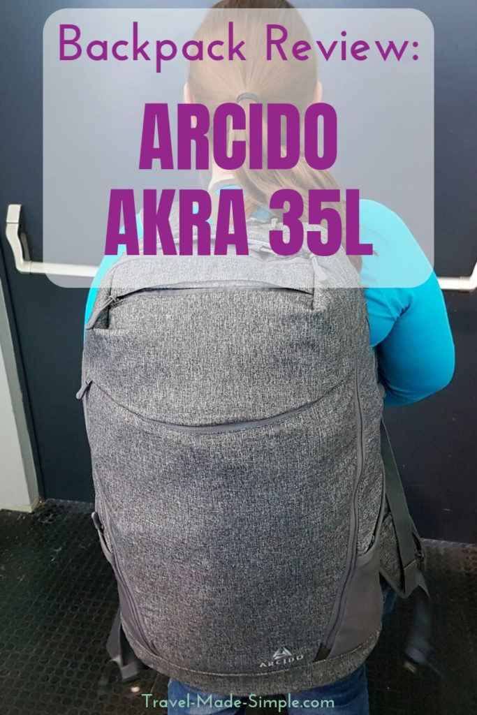 Arcido Backpack Review: Akra 35L Backpack