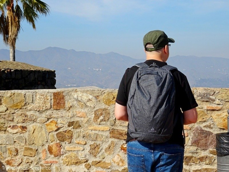 Arcido backpack review Andy with Vaga