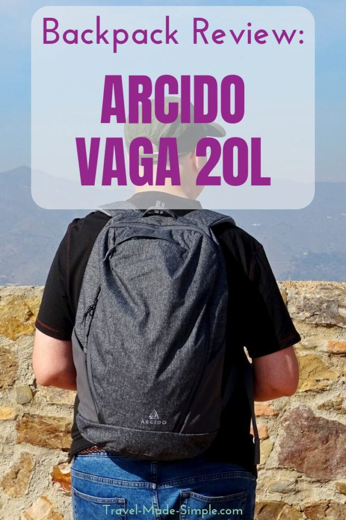 Arcido Backpack Review: Vaga 20L Backpack