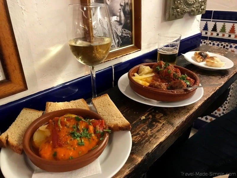 Malaga itinerary tapas