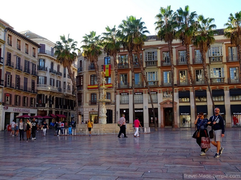 best things to do in Malaga Spain - historical center