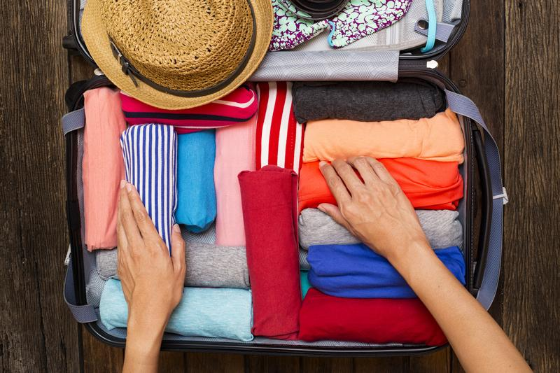 clothing travel packing list