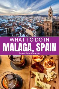 Malaga is a fantastic coastal city in southern Spain. Read about what to do in Malaga so you can start planning your Malaga itinerary and enjoy the sun! #spain #malaga #traveltips #travelplanning