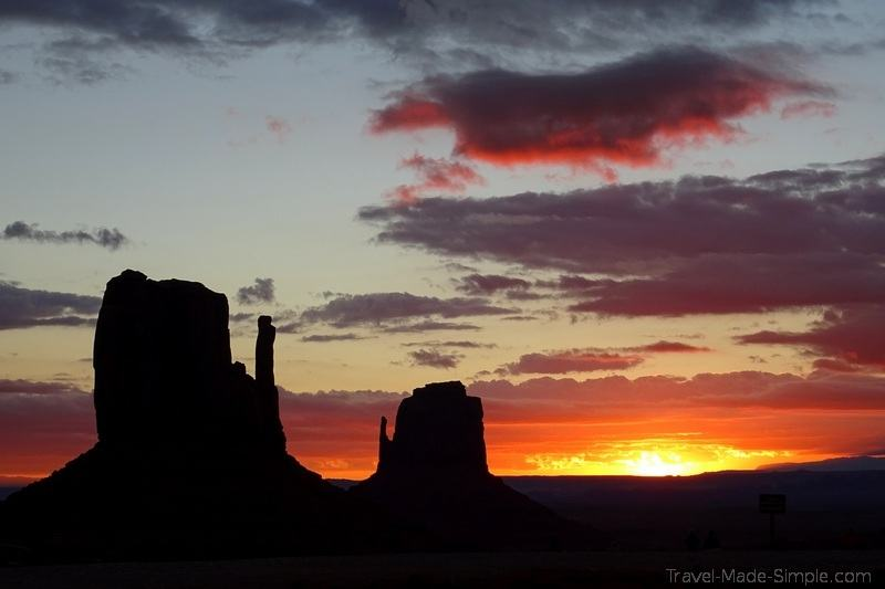 3 weeks US road trip itinerary Monument Valley