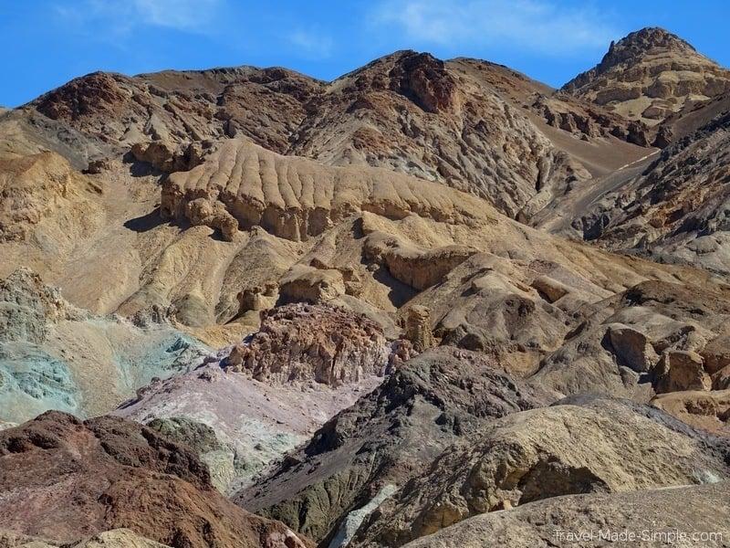 SW US road trip ideas - Death Valley, Artist's Palette