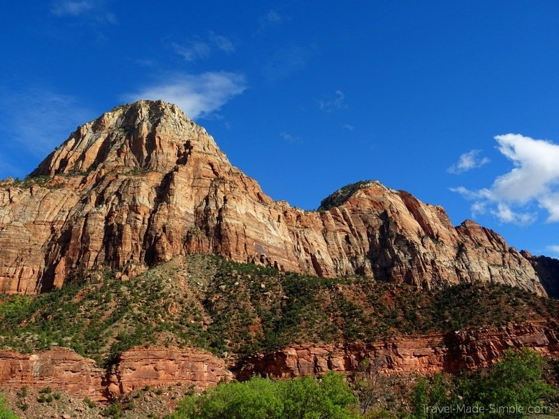 US national parks road trip itinerary Zion