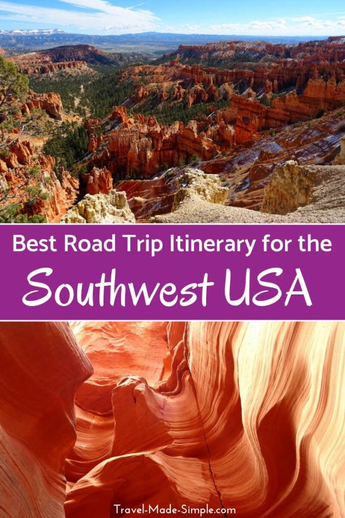 best American Southwest road trip itinerary