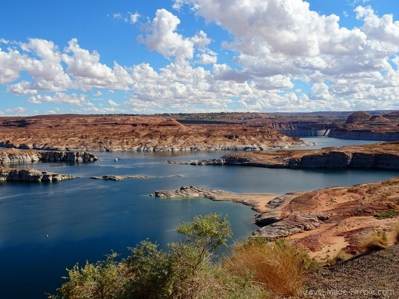 places to go on a US road trip - Lake Powell, Page, AZ