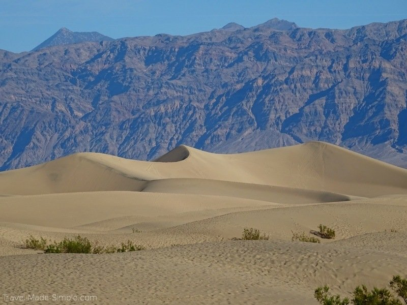 planning a US national parks road trip itinerary Death Valley