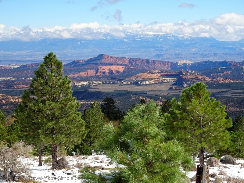 planning a road trip in the southwestern USA - Utah scenic hwy 12
