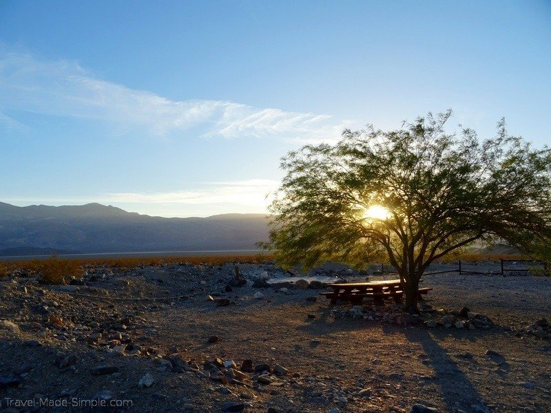 where to stay on your southwest US road trip Death Valley Panamint Springs campground