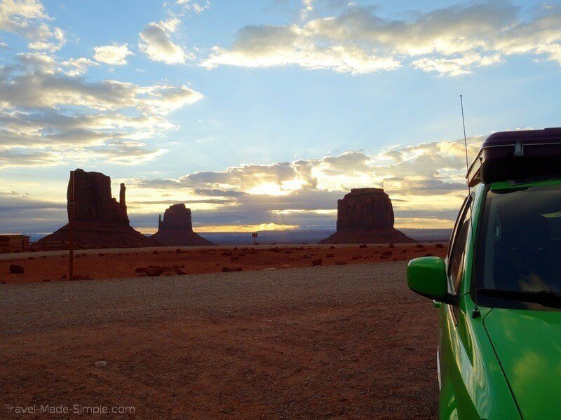 where to stay on your southwest US road trip Monument Valley campground