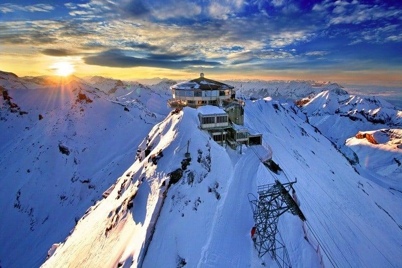 Bernese Oberland itinerary Switzerland Schilthorn Lauterbrunnen
