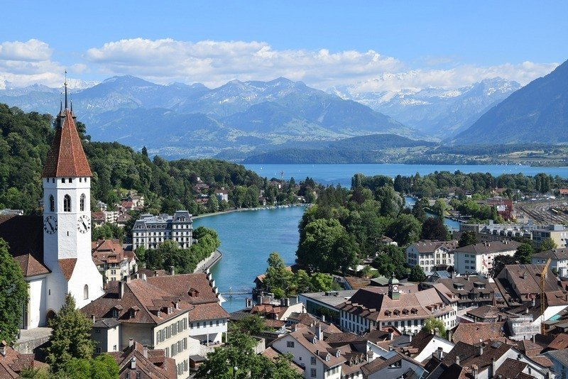 Bernese Oberland itinerary Thun Switzerland