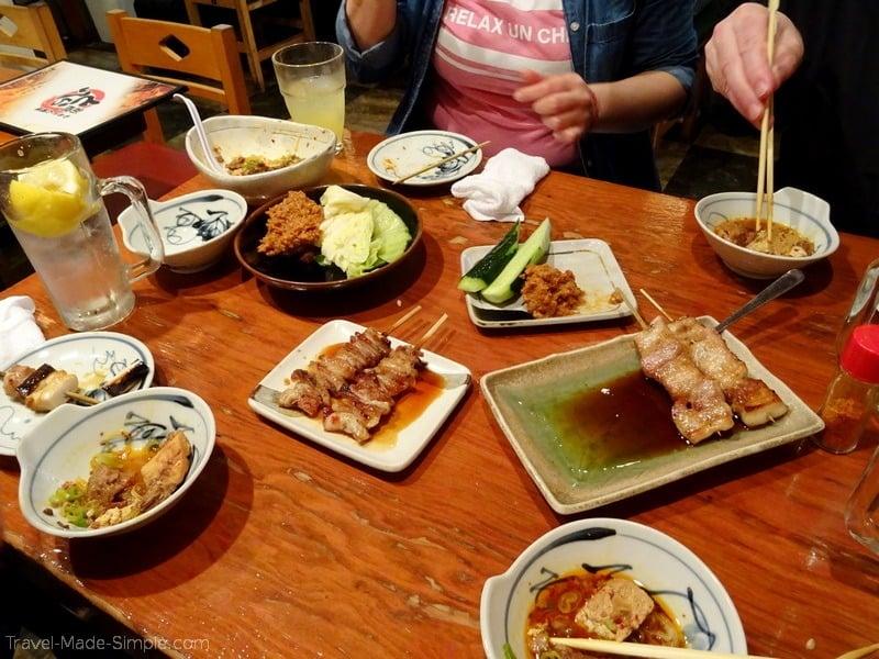 Tokyo Food Tour in Shinbashi Neighborhood