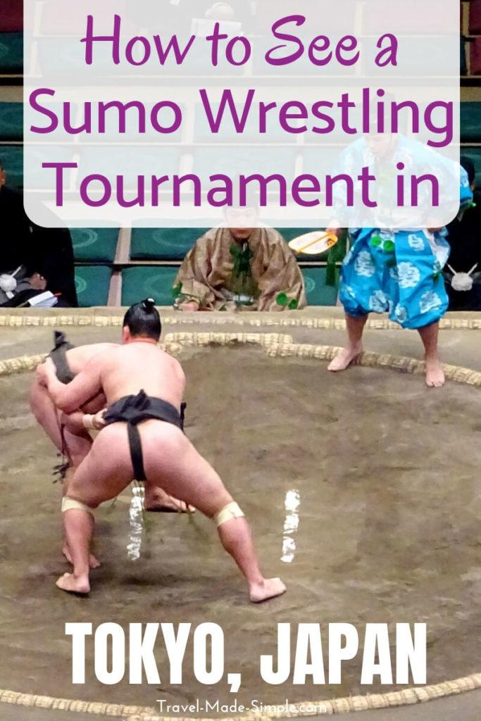How to See a Sumo Tournament in Tokyo Japan