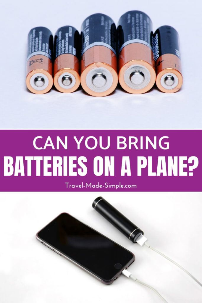 can you take batteries on a plane