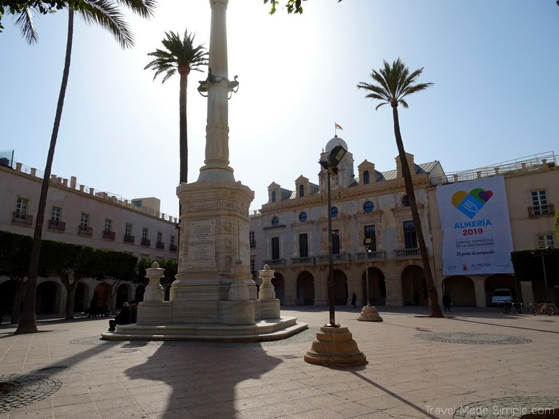 things to do in Almeria Spain plaza