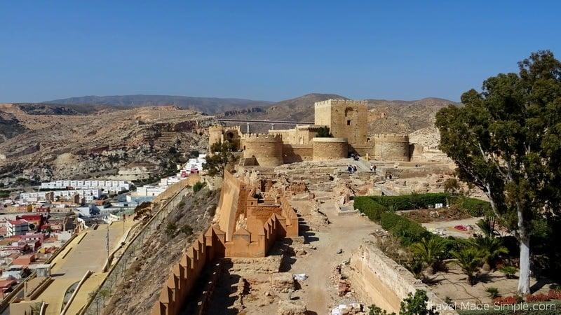 what to do in Almeria Spain castle