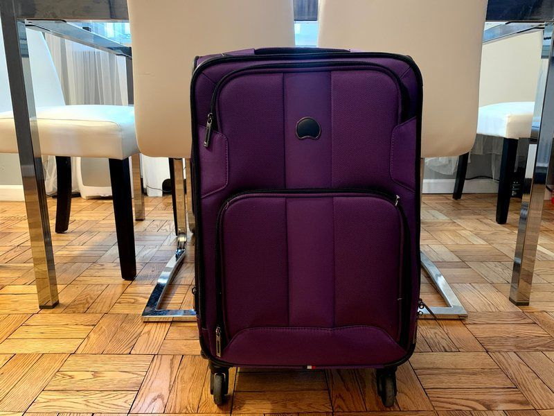 best suitcases for carry on travel Delsey SkyMax
