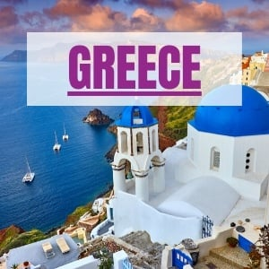 destinations Greece itineraries and tours