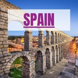destinations Spain itineraries and tours