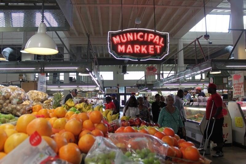 what to do in Atlanta Sweet Auburn Curb Market