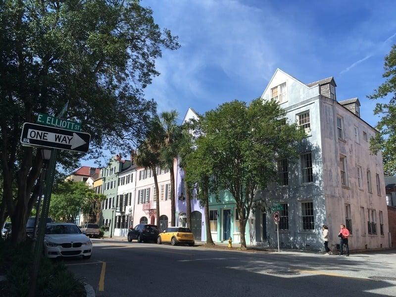 3 days in Charleston - Rainbow Row