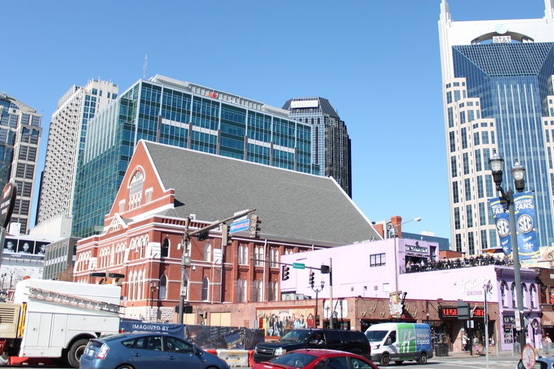Nashville itinerary - Ryman Auditorium