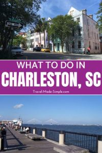 Plan a trip for 3 days in Charleston using these tips from an expert. This itinerary will show you a wide range of things to do in Charleston, SC. #charleston #sc #southcarolina #traveltips #travelplanning #usa
